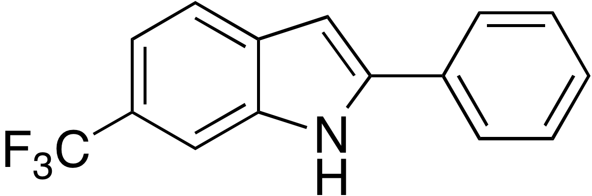 2-Phenyl-6-trifluoromethylindole