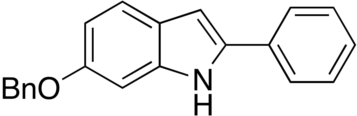 6-Benzyloxy-2-phenylindole