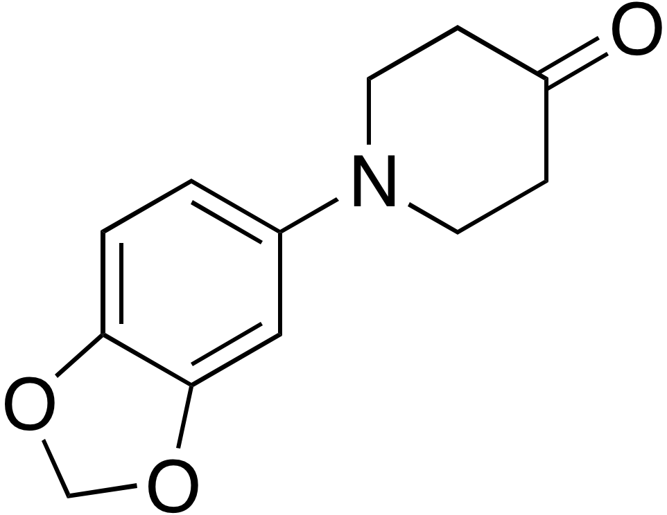 1-(1,3-Benzodioxol-5-yl)-4-piperidinone