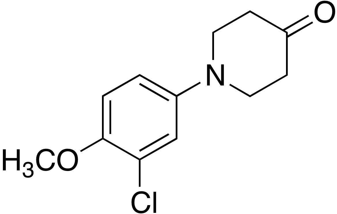 1-(3-Chloro-4-methoxyphenyl)-4-piperidinone