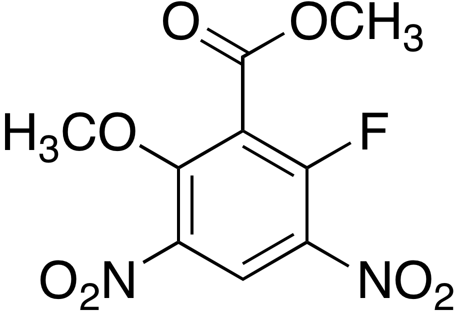 Methyl 3,5-dinitro- 2-fluoro-6-methoxybenzoate