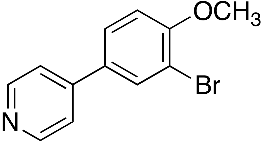 4-(3-Bromo-4-methoxyphenyl)pyridine