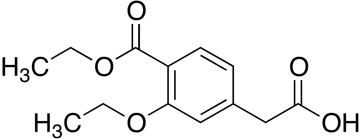 3-Ethoxy-4-ethoxycarbonylphenylacetic acid