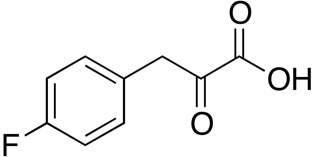 4-Fluorophenylpyruvic acid