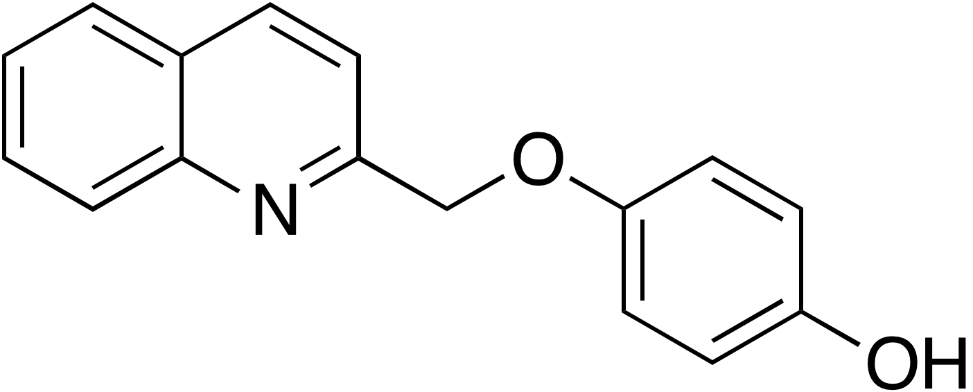 4-Quinolin-2-ylmethoxyphenol
