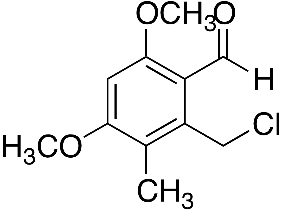 2-Chloromethyl-4,6-dimethoxy-3-methylbenzaldehyde