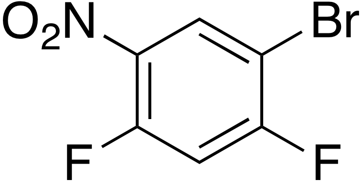 1-Bromo-2,4-difluoro-5-nitrobenzene