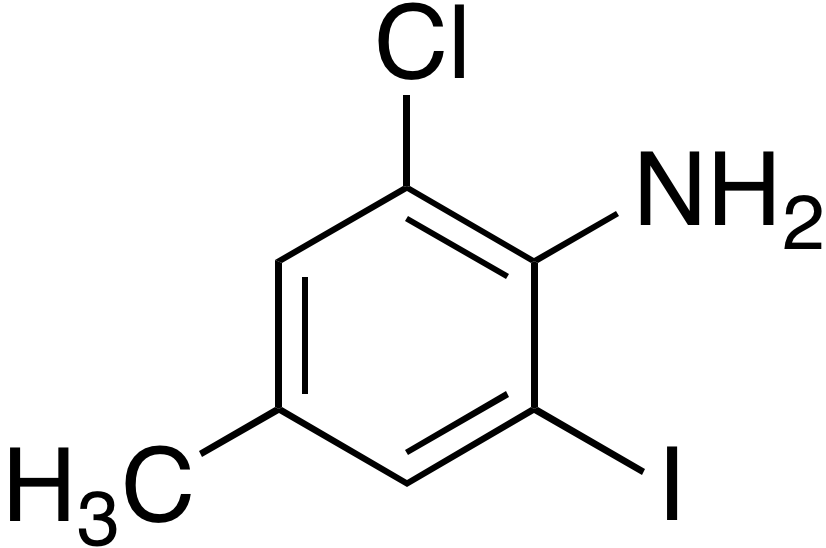 2-Chloro-6-iodo-4-methylaniline