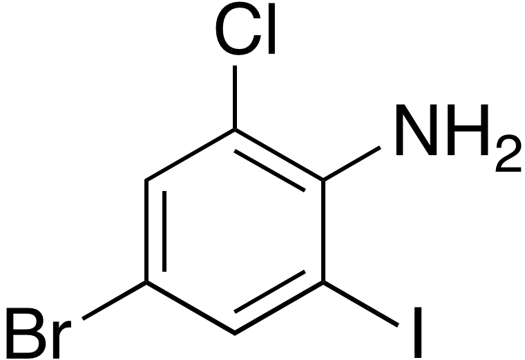4-Bromo-2-chloro-6-iodoaniline