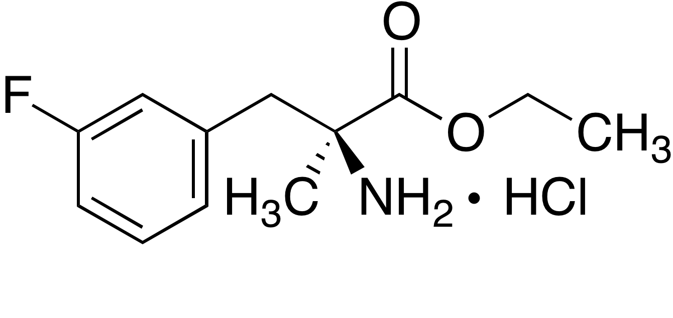 (S)-Ethyl 2-amino-3-(3-fluorophenyl)-2-methylpropanoate hydrochloride