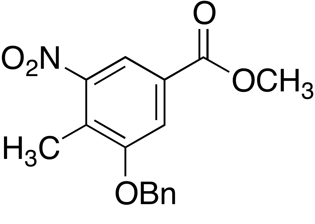 Methyl 3-benzyloxy-4-methyl-5-nitrobenzoate