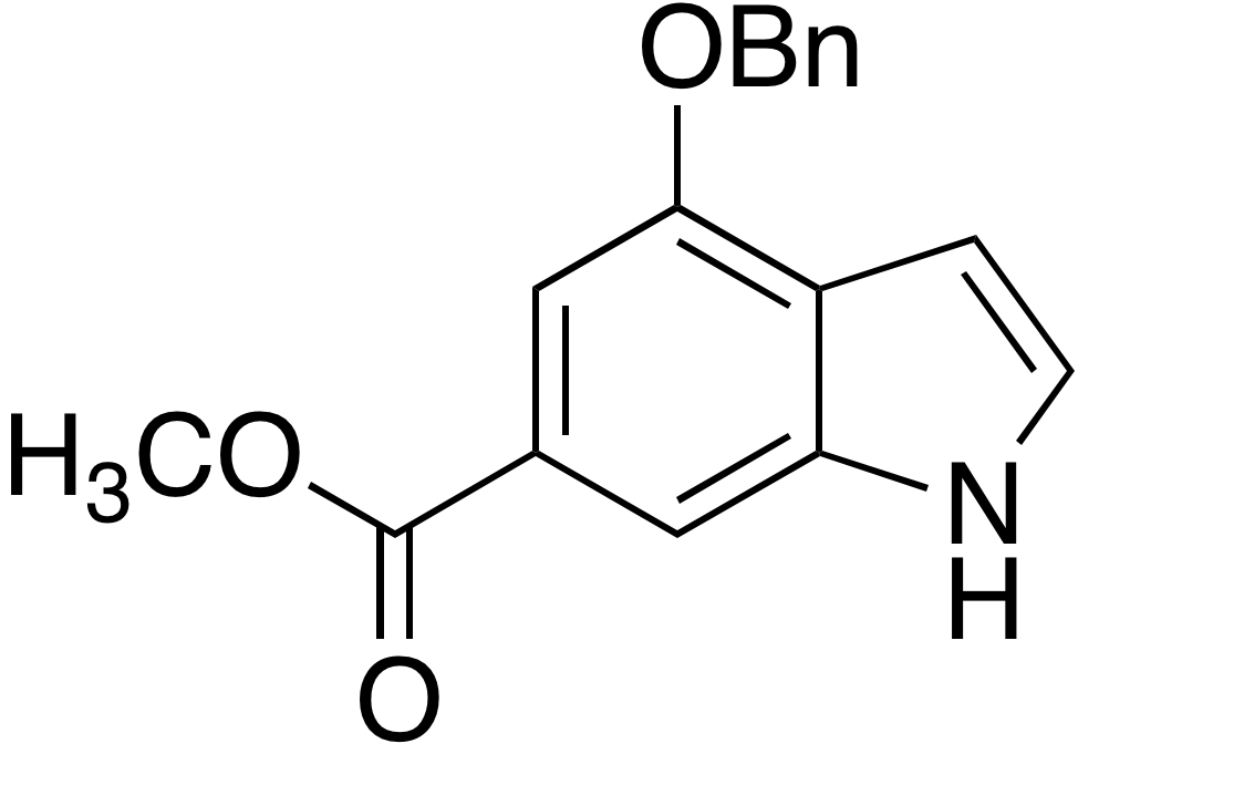 Methyl 4-benzyloxyindole-6-carboxylate