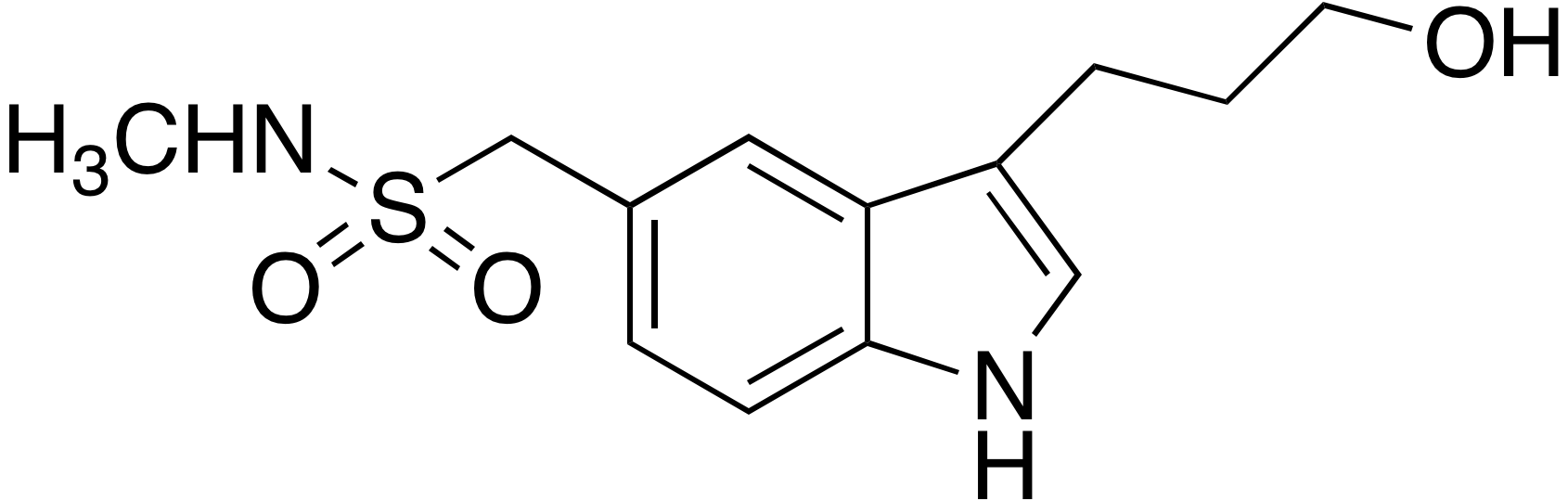 1-(3-(3-Hydroxypropyl)-5-indolyl)-N-methylmethanesulfonamide