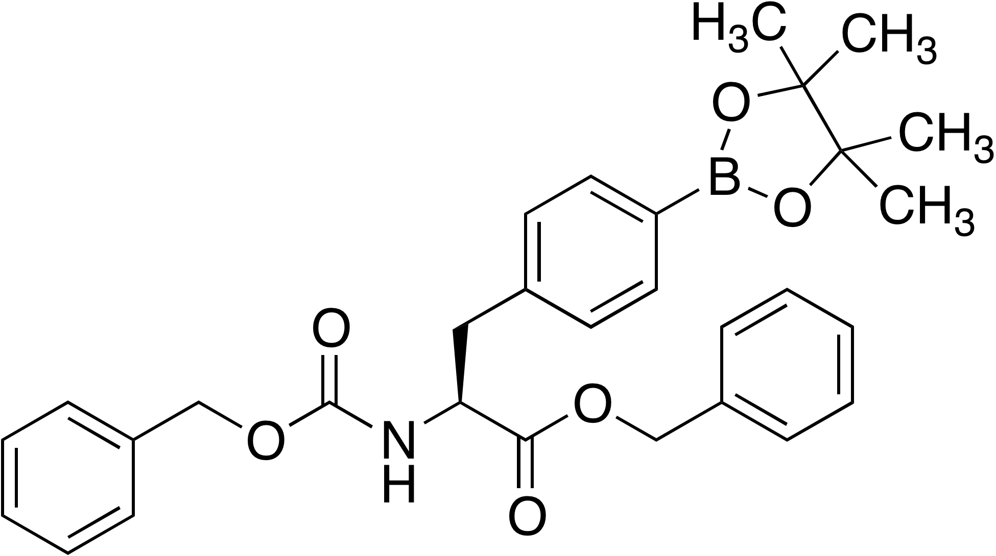 (S)-4-(3-(Benzyloxy)-2-(benzyloxycarbonylamino)-3-oxopropyl)benzeneboronic acid pinacol ester