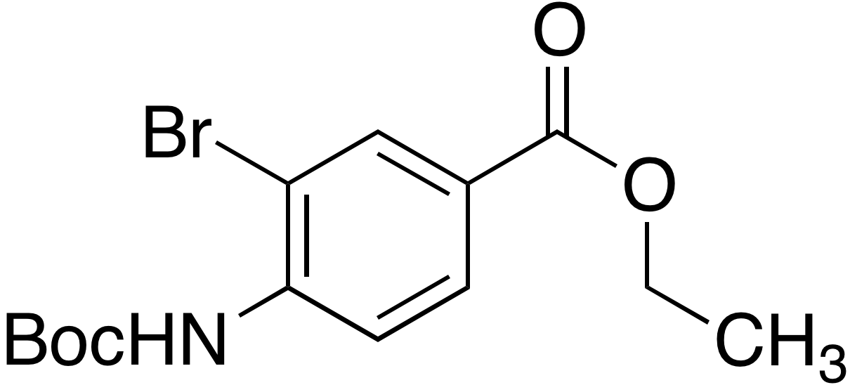 Ethyl 3-Bromo-4-(N-tert-butoxycarbonyl)aminobenzoate