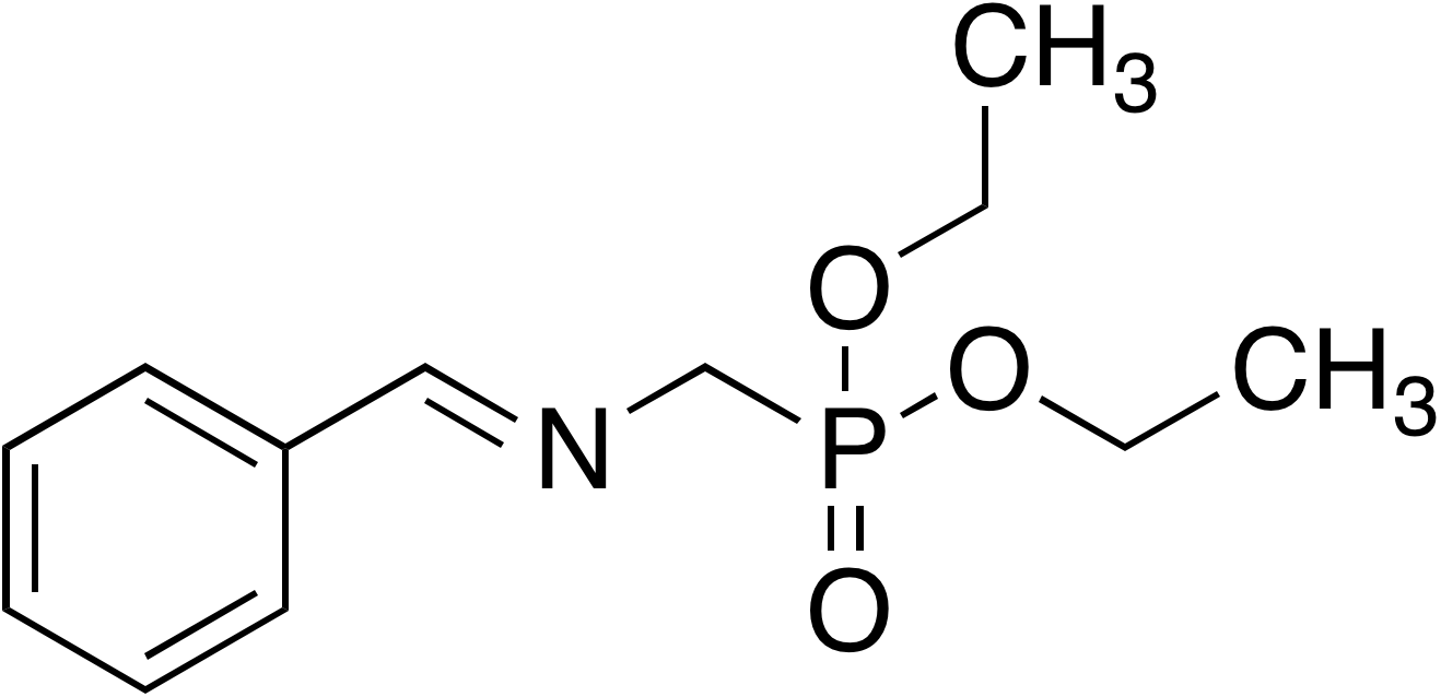Diethyl N-(benzylidene)aminomethylphosphonate