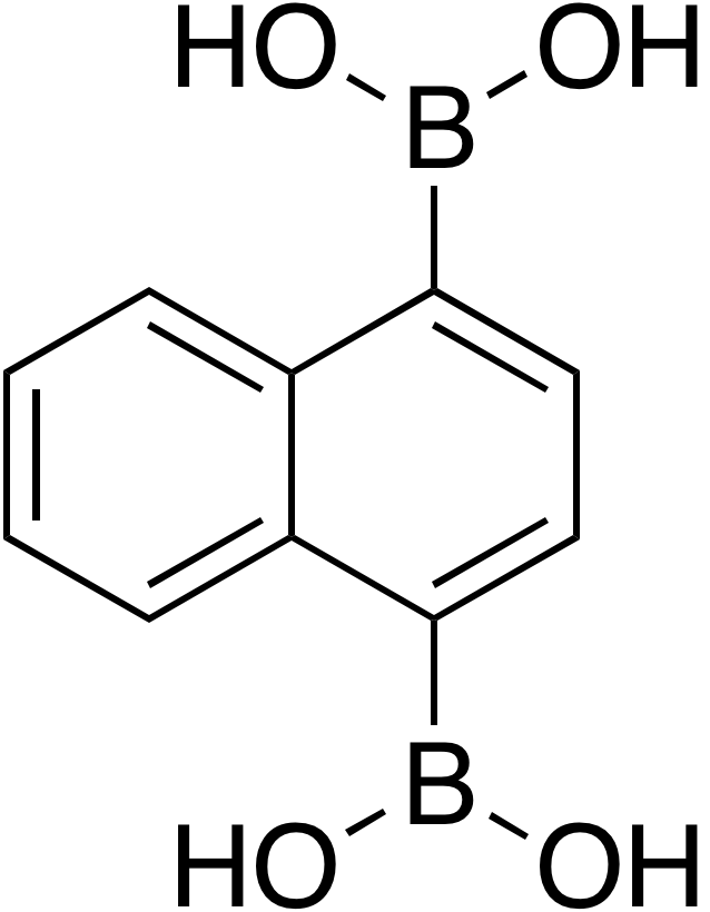 Naphthalene-1,4-diyldiboronic acid