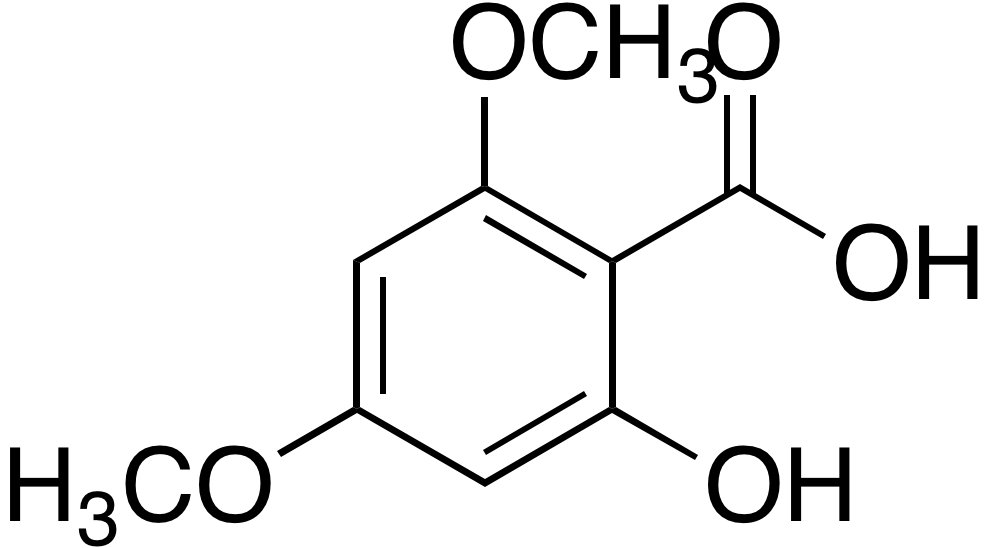 2-Hydroxy-4,6-dimethoxybenzoic acid