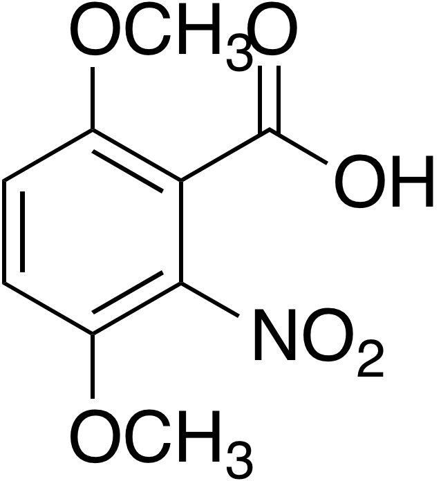3,6-Dimethoxy-2-nitrobenzoic acid