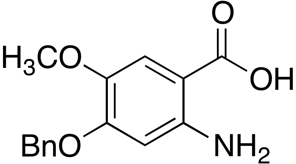 2-Amino-4-benzyloxy-5-methoxybenzoic acid