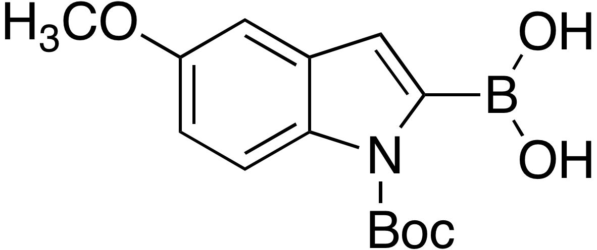 N-Boc-5-methoxyindole-2-boronic acid