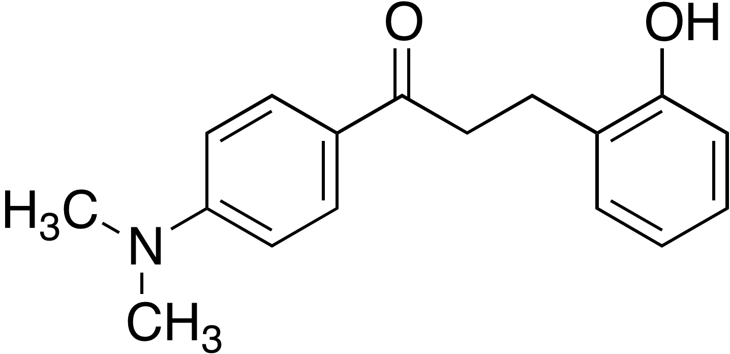 1-(4-Dimethylaminophenyl)-3-(2-hydroxyphenyl)-1-propanone