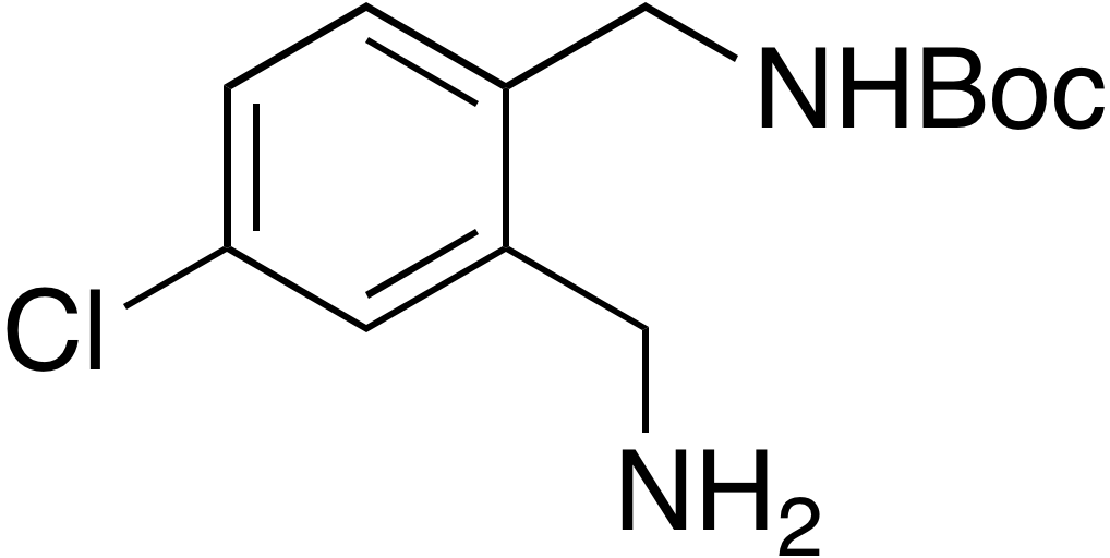 tert-Butyl 2-(aminomethyl)-4-chlorobenzylcarbamate