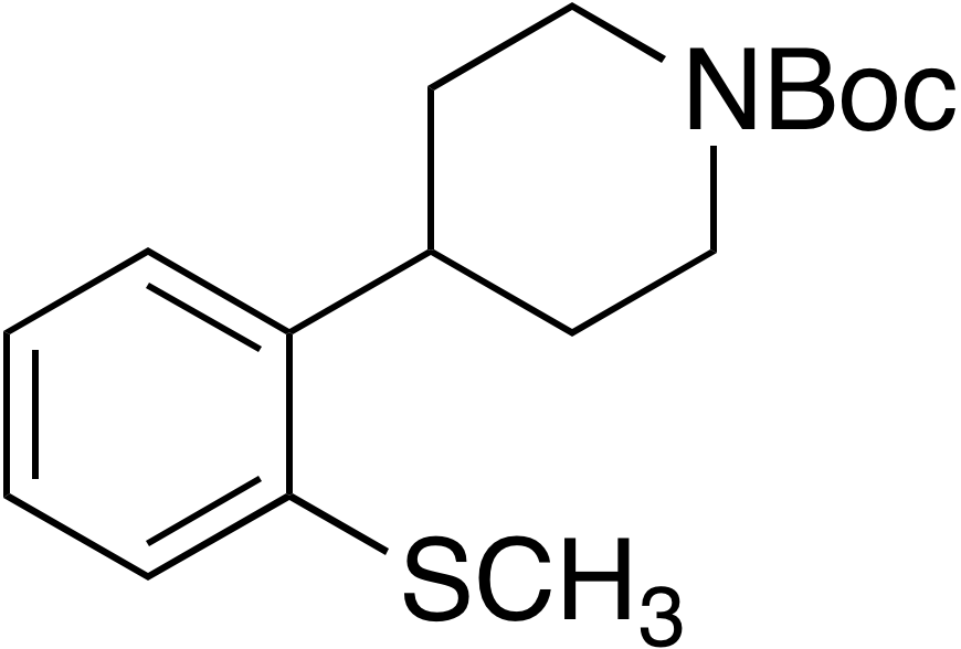 tert-Butyl 4-(2-(methylthio)phenyl)piperidine-1-carboxylate