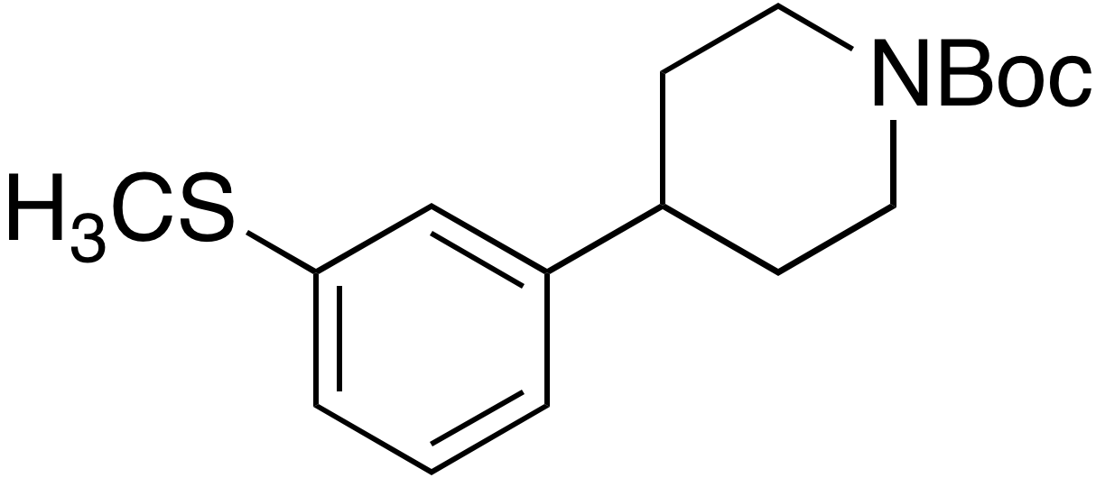tert-Butyl 4-(3-(methylthio)phenyl)piperidine-1-carboxylate