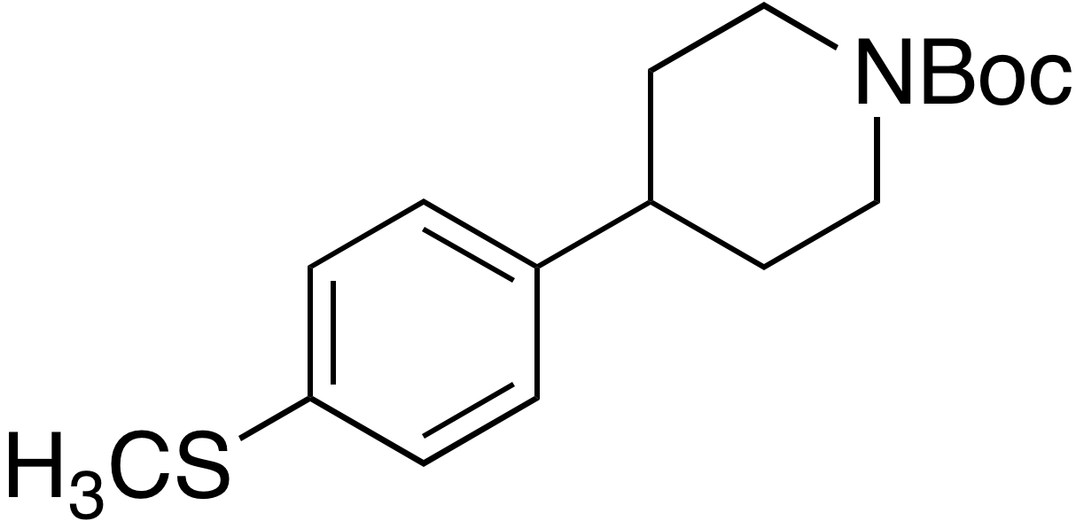 tert-Butyl 4-(4-(methylthio)phenyl)piperidine-1-carboxylate