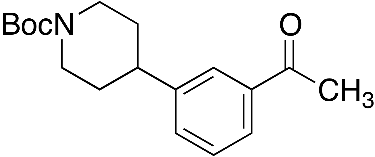 tert-Butyl 4-(3-acetylphenyl)piperidine-1-carboxylate