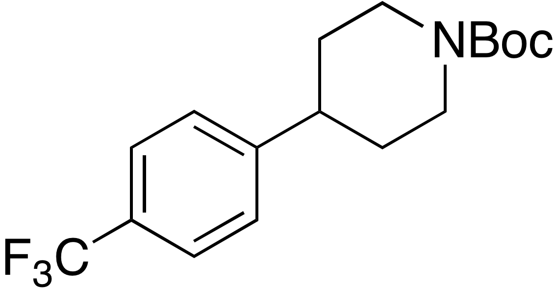 tert-Butyl 4-(4-(trifluoromethyl)phenyl)piperidine-1-carboxylate