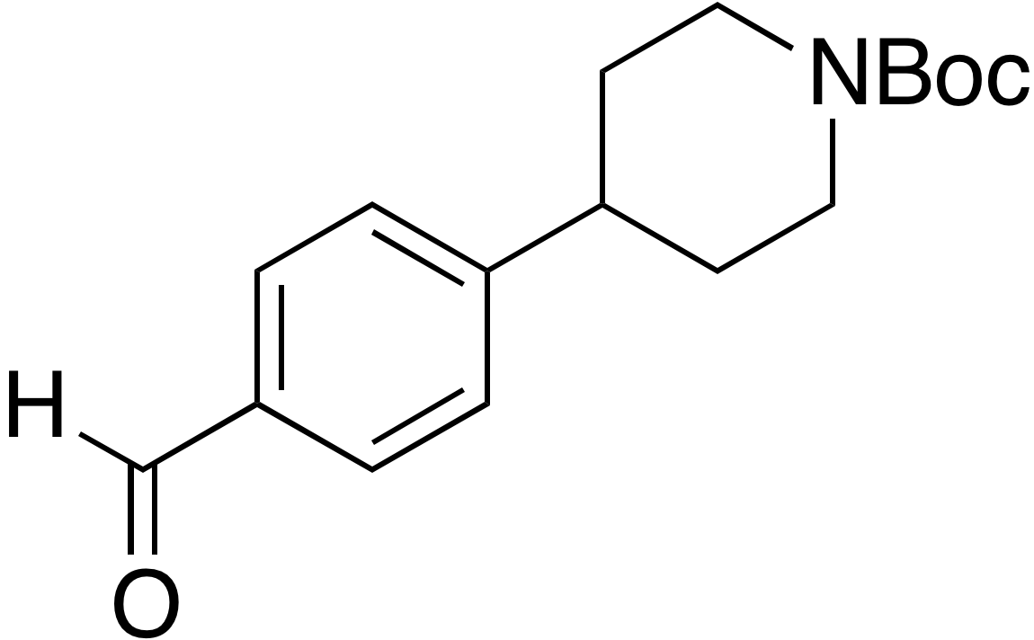 tert-Butyl 4-(4-formylphenyl)piperidine-1-carboxylate