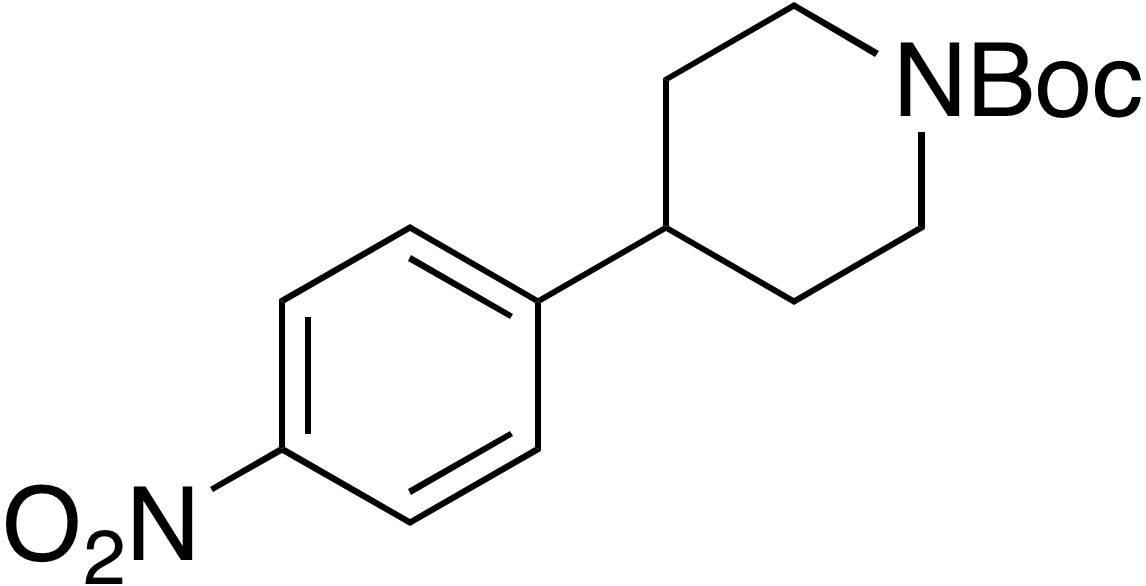 tert-Butyl 4-(4-nitrophenyl)piperidine-1-carboxylate