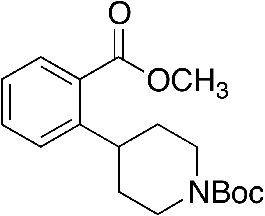tert-Butyl 4-(2-(methoxycarbonyl)phenyl)piperidine-1-carboxylate