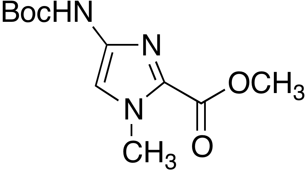 Methyl 4-(boc-amino)-1-methylimidazole-2-carboxylate