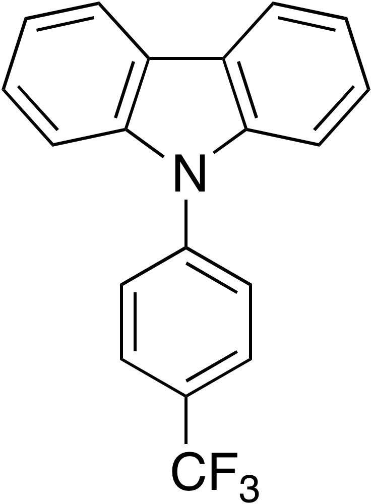 9-(4-Trifluoromethylphenyl)carbazole