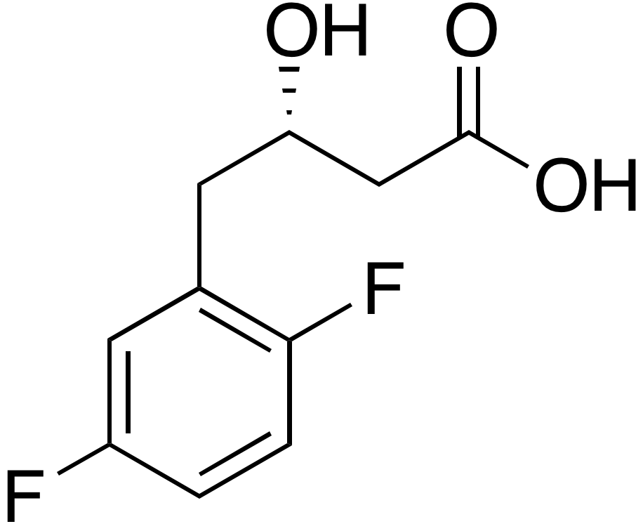 (S)-4-(2,5-Difluorophenyl)-3-hydroxybutyric acid