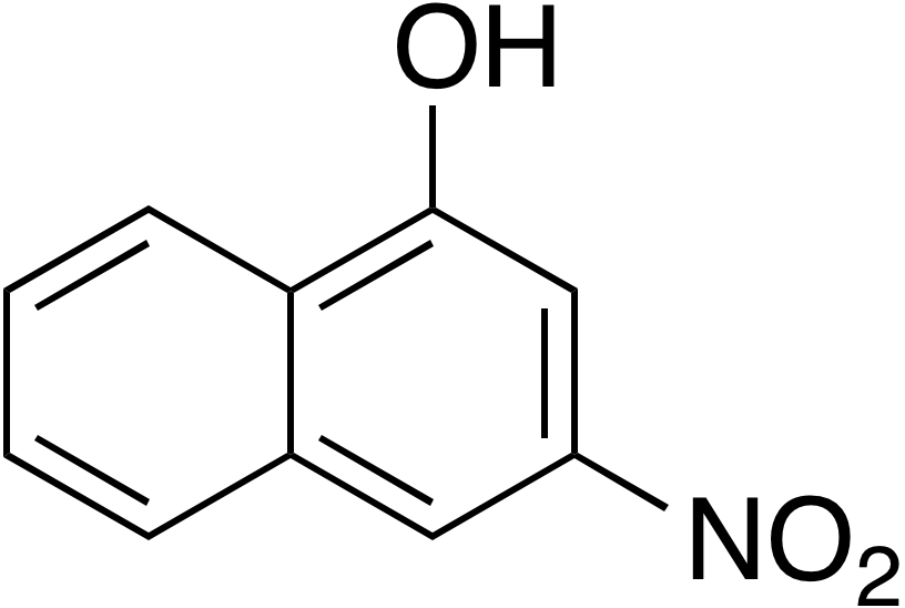 3-Nitro-1-naphthalenol