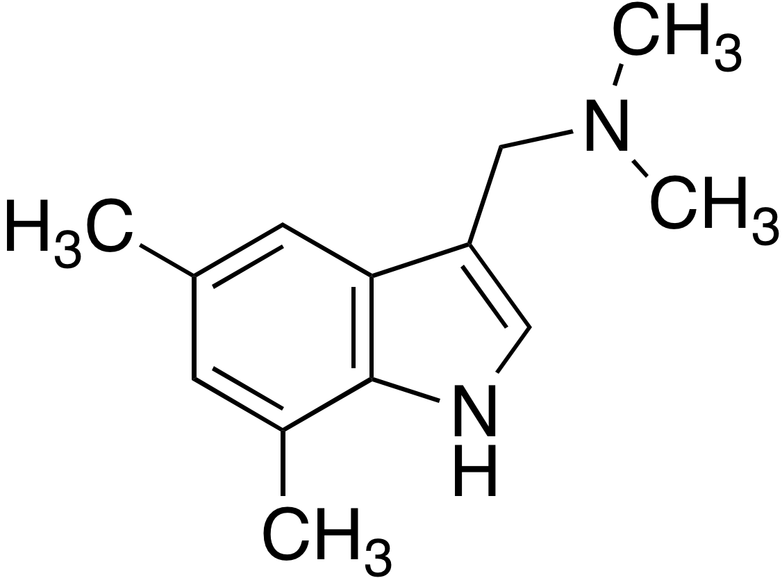 (5,7-Dimethylindol-3-yl-methyl)dimethylamine
