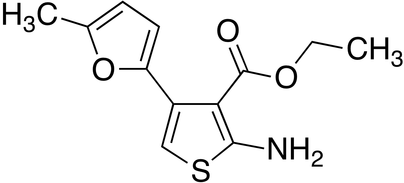 Ethyl 2-amino-4-(5-methyl-2-furyl)thiophene-3-carboxylate
