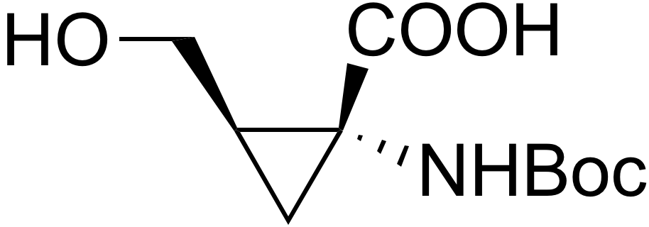 1-tert-Butoxycarbonylamino-2-hydroxymethyl-cyclopropanecarboxylic acid