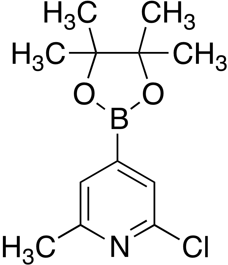 2-Chloro-6-methylpyridine-4-boronic acid pinacol ester