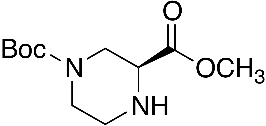 (S)-1-N-Boc-Piperazine-3-carboxylic acid methyl ester