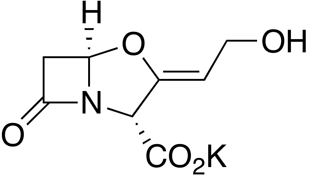Potassium clavulanate