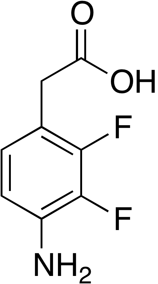 2-(4-Amino-2,3-difluorophenyl)acetic acid