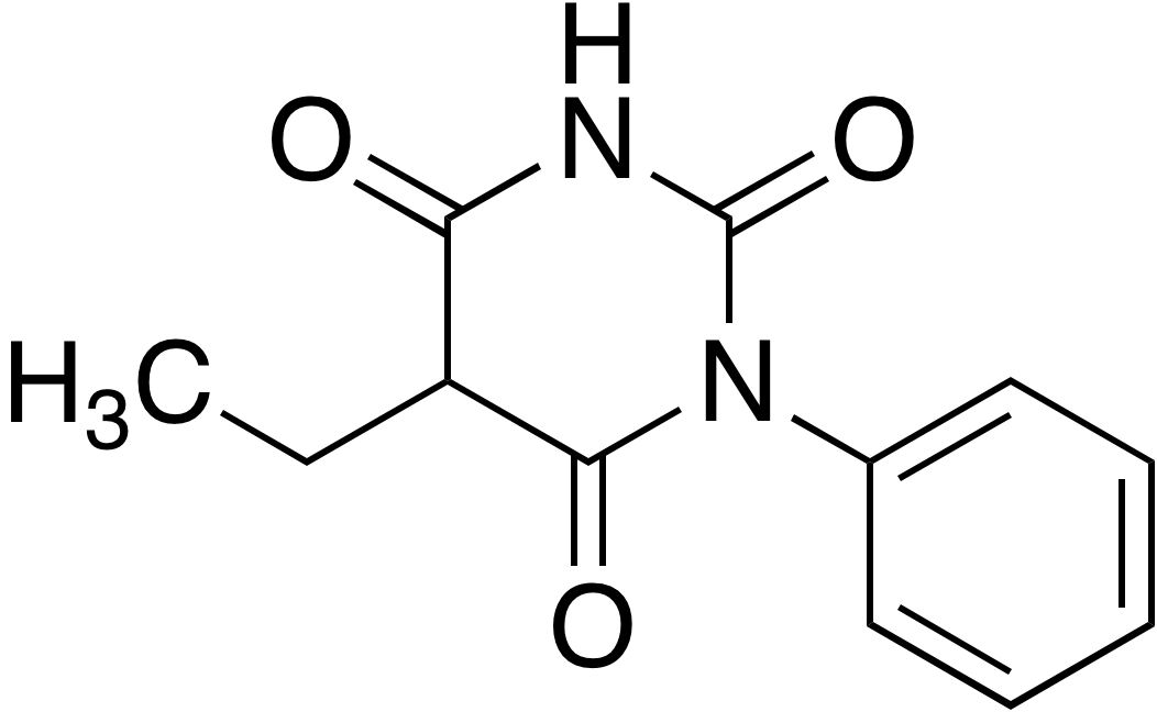 5-Ethyl-1-phenylbarbituric acid