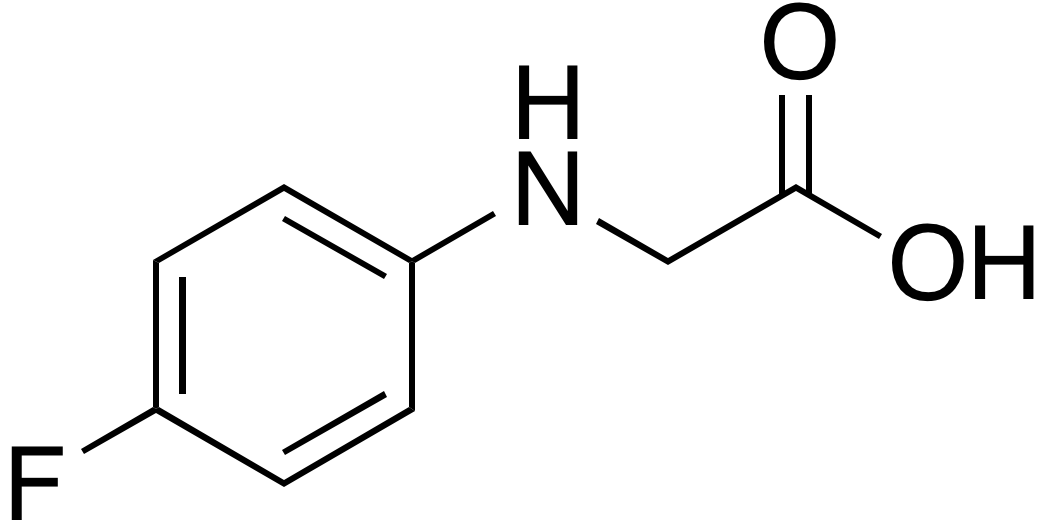 (4-Fluorophenylamino)acetic acid