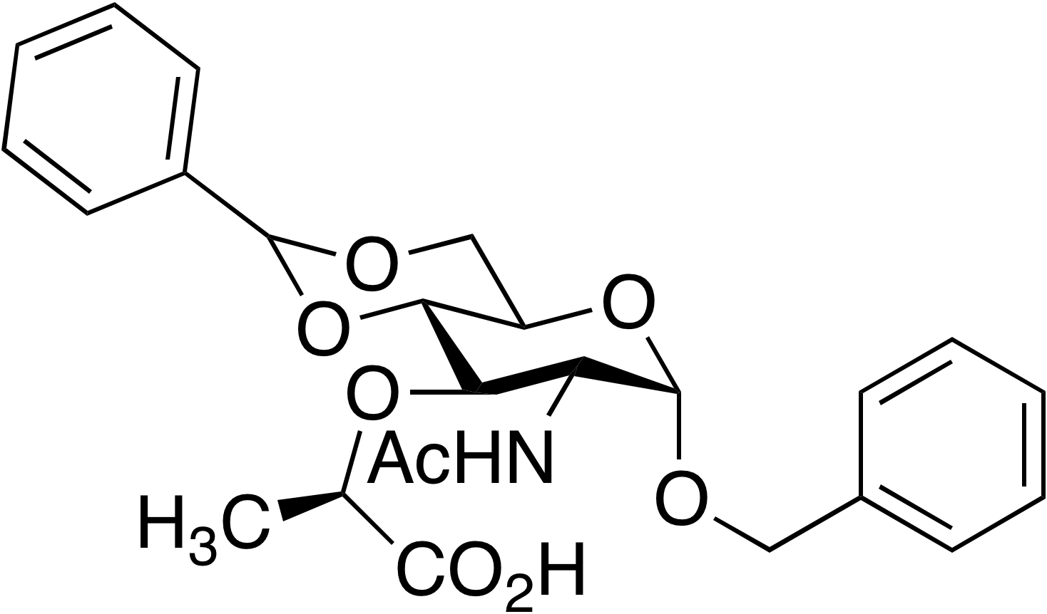 alpha-Benzyl-4,6-O-benzylidene muramic acid