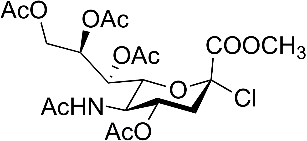 N-Acetyl-2-chloro-2-deoxyneuraminic acid methyl ester 4,7,8,9-tetraacetate